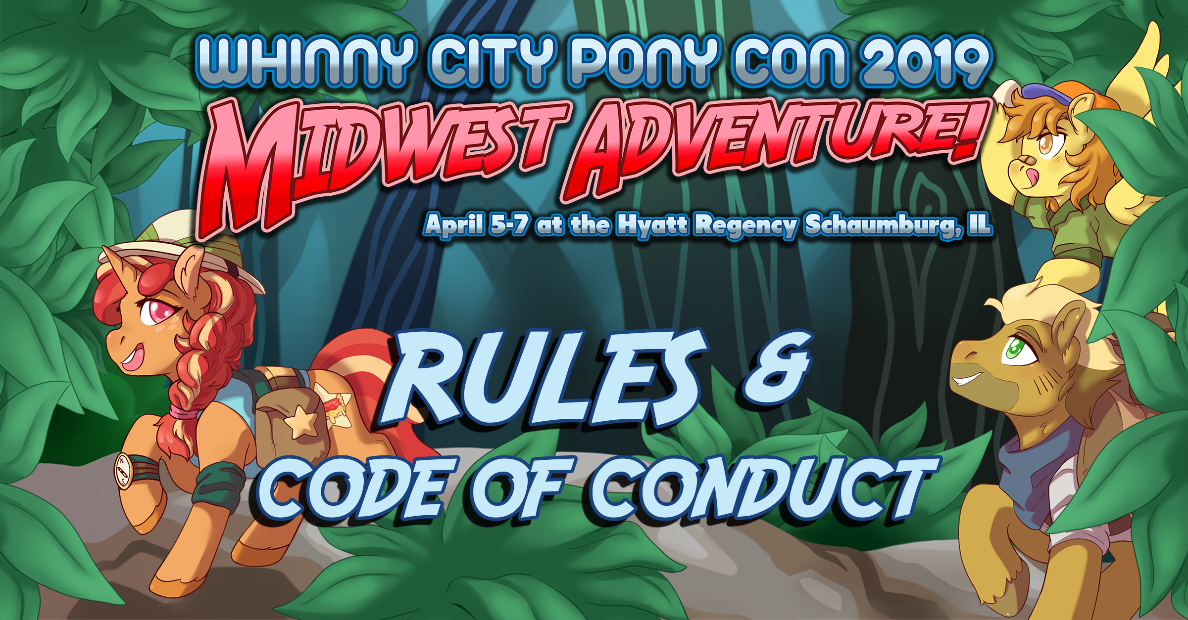 Rules & Code of Conduct - Whinny City Pony Con Whinny City Pony Con 2019